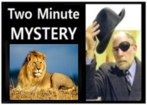 Two Minute Mystery No 19