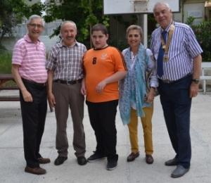 A happy tiime for Karakum Special Needs school