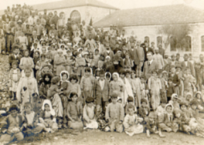 Armenians being deported image