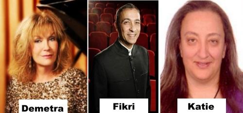 Demetra, Fikri, Katie