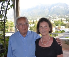 Dr Christian Heinze and Ursula Heinze