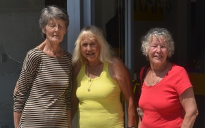 Gwen Cassell, Marion Youdon , Ann Bosley