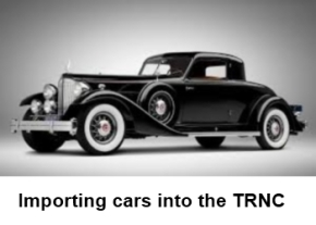 Importing cars into the TRNC image
