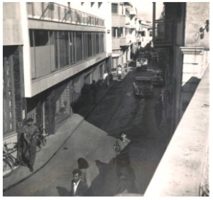Ledra Street - late 1950's, courtesy of Derek Chilvers