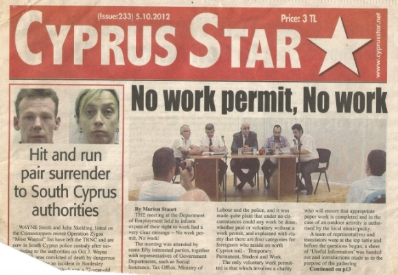 No work permit, No work