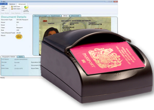 Passport scanner