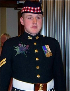 Sgt Sean Binnie Black Watch