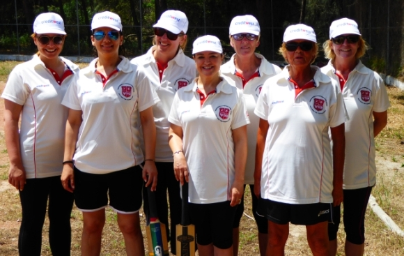TRNC Ladies cricket team.