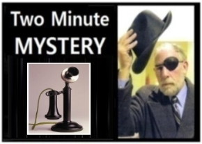 Two Minute Mystery No 22