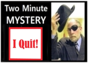 Two Minute Mystery No 23