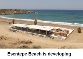Esentepe Beach development image