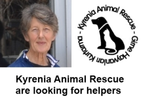 KAR are looking for helpers