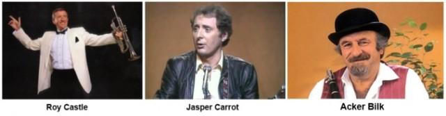 Roy Castle Jasper Carrot and Acker Bilk