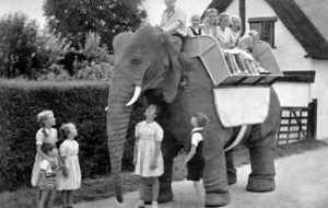 The Goodyear mechanical elephant
