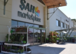 Şah Marketplace show thw way of recycling