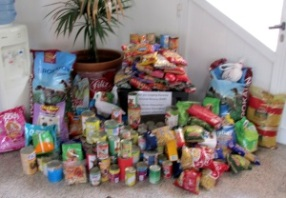 Donations of food