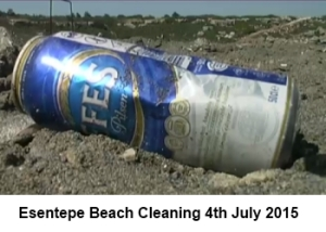 Esentepe Beach cleaning image