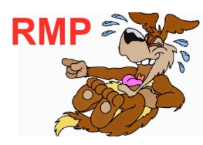 Laughing RMP dog image