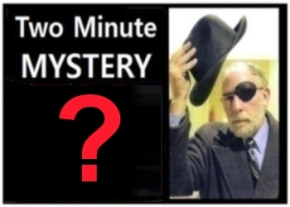 Two Minute Mystery No 29
