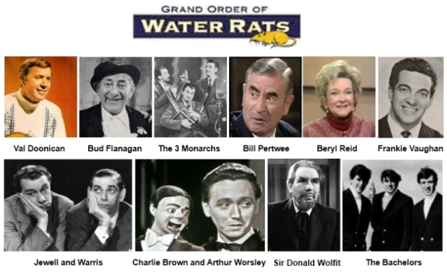Water Rats show line up 2