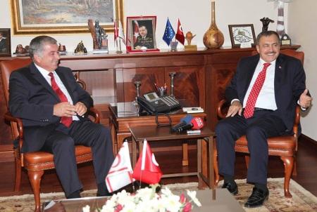 Önder Sennaroğlu and Veysel Eroğlu