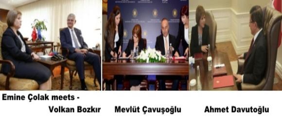 Emine Colak meets
