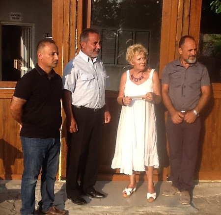l-r Turkmen Kim, Mehmet Karaali, Mary Watson, Hasan Ergurer,