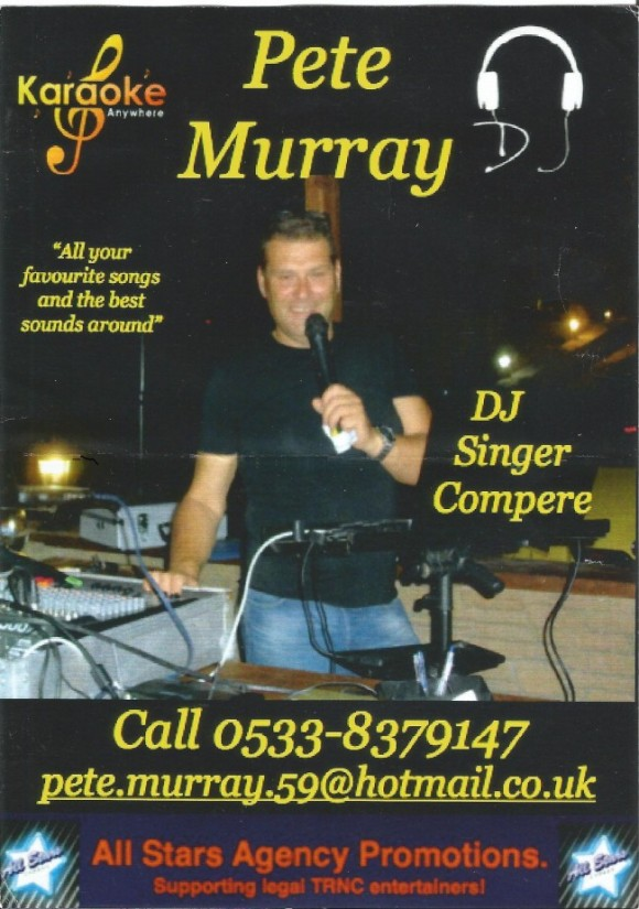 Pete Murray poster