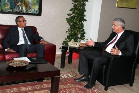 PM Ömer Kalyoncu and Fikri Toros