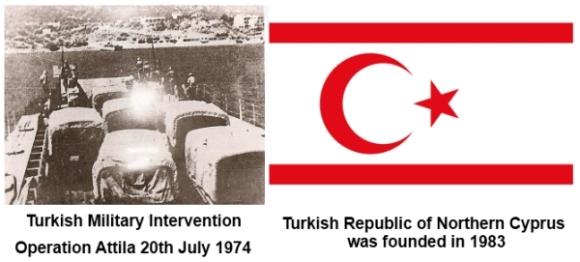 Turkish Intervention and TRNC foundation