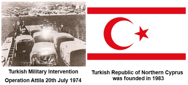 Turkish Intervention and TRNC foundation