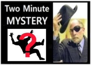 Two Minute Mystery No 33