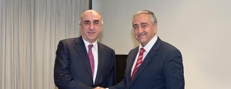 Akıncı meets with Mammadyarov and Hisarcıklıoğlu
