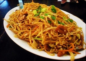 Asian Stlye Pork with Noodles