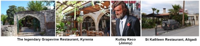 Grapevine and St Kathleen Restaurants