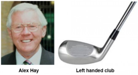 Left handed club