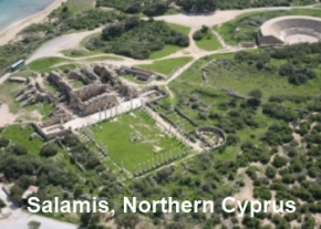 Salamis - Picture courtesy of TRNC Tourism Department