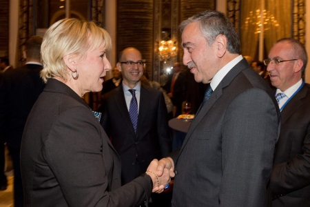 Akinci's contacts continue 2