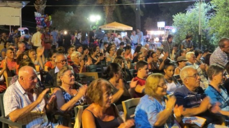 Audience at Olive Fest