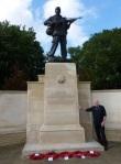 Derek at Duxford Imperial War Museum