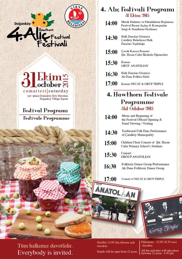 Dogankoy Walnut Festival poster