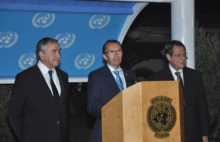 Eide - Leaders had constructive exchange