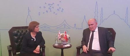 Emine Colak and Feridun Sinirlioğlu