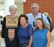 Heidi, Vedia Alkaş and family