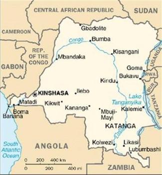 Kataga map