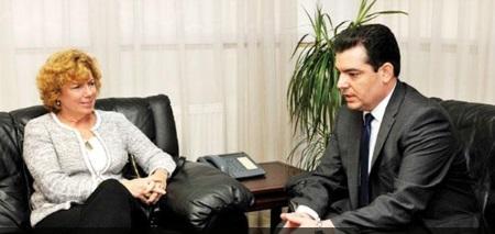Kathleen Ann Doherty and Hristoforos Fokaidis
