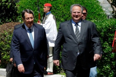 Nikos Anastasiades and Nicos Kotzias