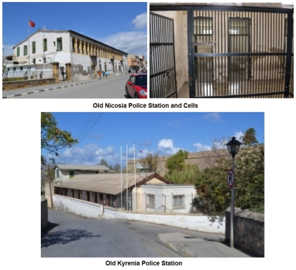 Old Nicosia and Kyrenia police stations