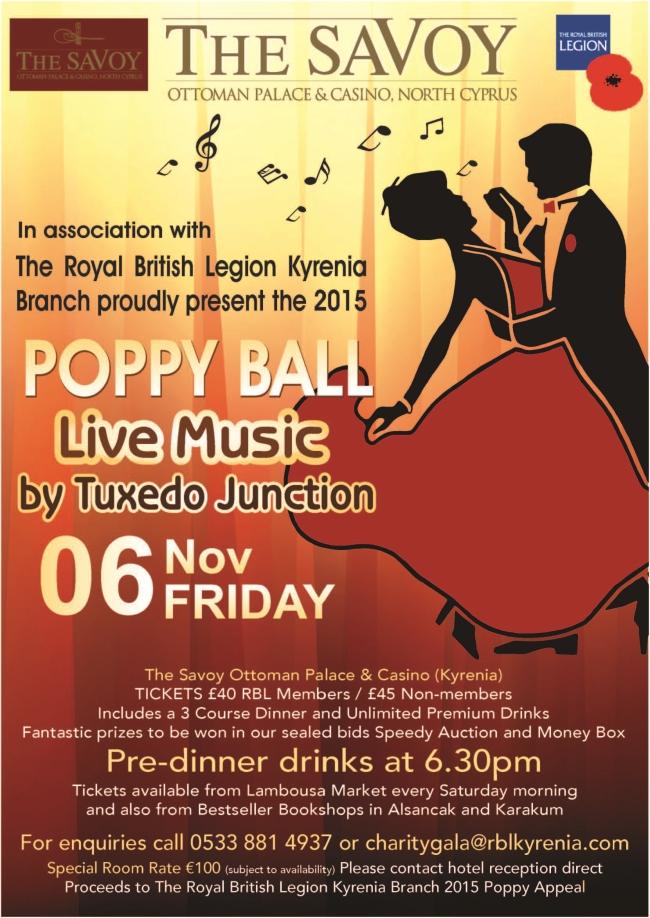 Poppy Ball 2015 Poster