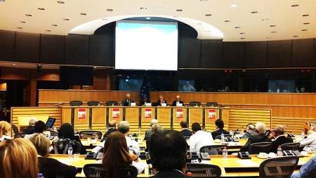 Talat at European Parliament